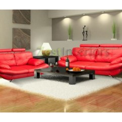 Verona Leather Sofa Reviews Bed Murah Jakarta 3 And 2 Faux Set W Adjustable Headrest