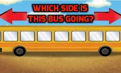 which side bus is going