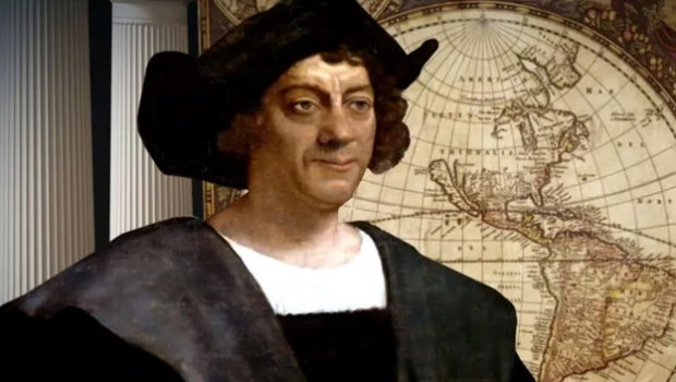 Christopher Columbus men who change the world
