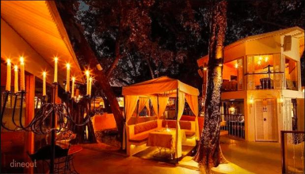 Sevilla extremely romantic restaurant in Delhi