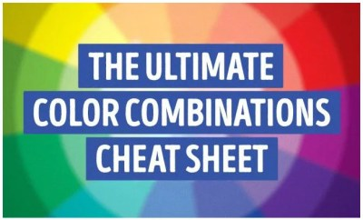 color combination cheat sheet