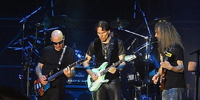 G3 - Joe Satriani - Steve Vai - The Aristocrats - Roma 2016