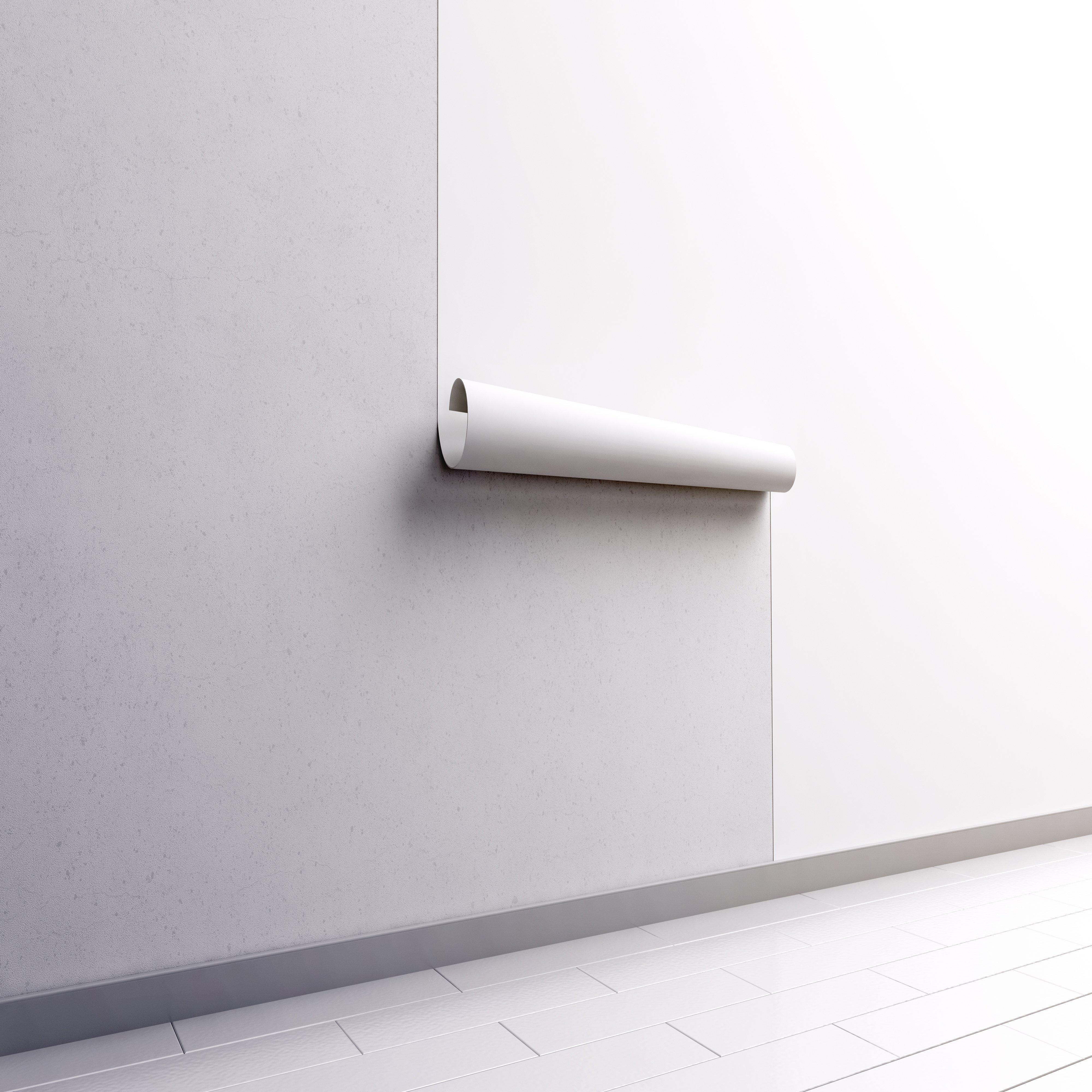 Nel caso in cui la stanza abbia una forma rettangolare, si consiglia di decorare una parete più corta con carta da parati, aumentando visivamente lo spazio; Carta Da Parati Rimovibile Peel Stick