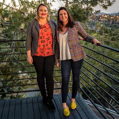 Rhianna White and Ami Lewallen