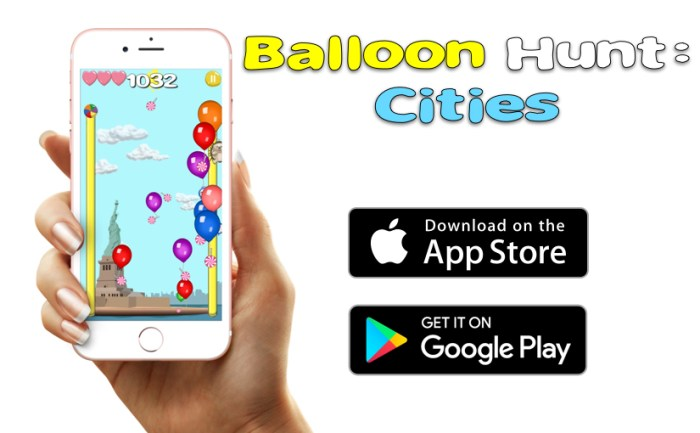 Balloon pop for kids