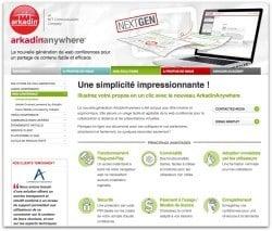 Arkadin anywhere-webconference