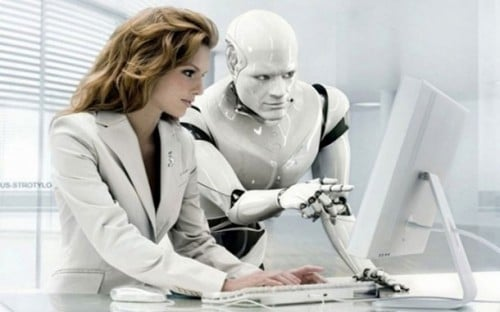 robot numérique