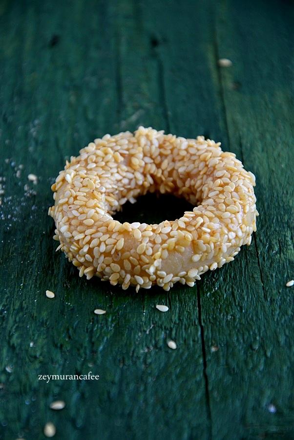 tuzlu susamlı kurabiye tarifi