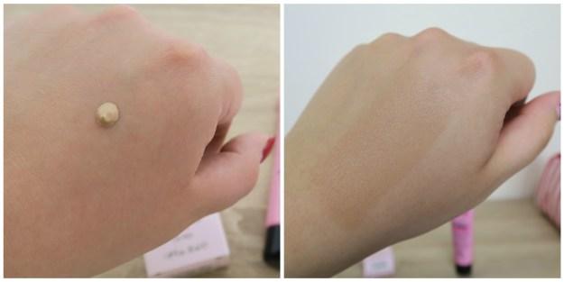 BB Cream Anti Eta Swatch