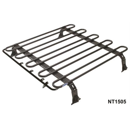 bagageiro de Teto Defender 90 e 110 Modelo plano com 2 Racks