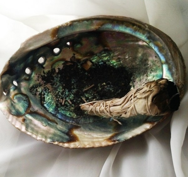 Smudging is all about the smoke which clears out the negative energy allowing clean positive energy to flow in.