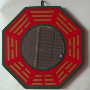 Feng Shui Mirror for protection
