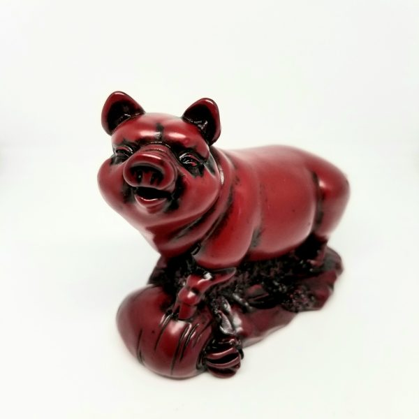 The pig symbolizes good fortune, wealth, honesty, generosity, hard-working, peace-loving, truthfulness, fun, sincerity, and a great sense of humor. For those born in the year of the Pig: Pigs are home-lovers whose prime concern is the family. They are particularly natural beings, shunning displays or pretense, and enjoying company and jollity generally. Caring and industrious, Pigs are far from lazy; and their homes will bear ample evidence of an aptitude for carpentry, needlework, and other domestic skills