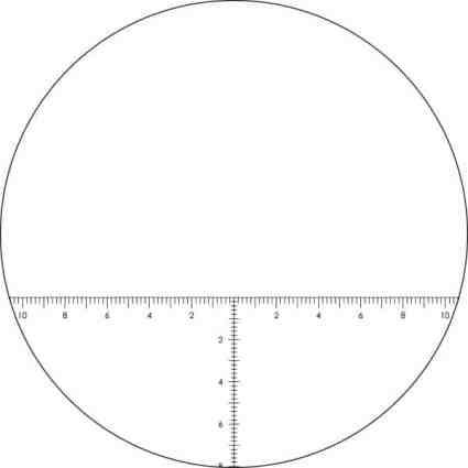 Vortex Optics VIPER? HD RETICLE EYEPIECE - Ranging (MRAD) Reticle (VS-85REM) 1