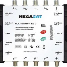 Multiswitch kaskadowy Megasat 5/8 C