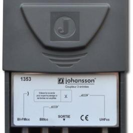 Zwrotnica masztowa Johansson 1353, FM+BIII/VHF+UHF