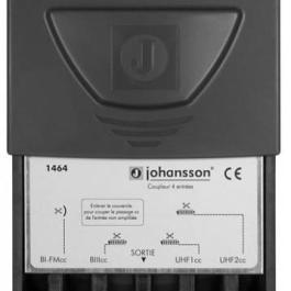 Zwrotnica masztowa Johansson 1464, 2xUHF+DAB+FM