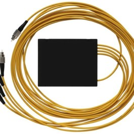 Splitter optyczny z pigtail 1x4 1310/1550nm FC/PC