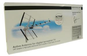 Antena Maximum UHF 15A LTE aktywna z zas.