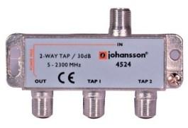 2 WAY TAP OdgałęŸnik 2-krotny Johansson 30 dB 4524