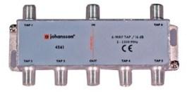 6 WAY TAP OdgałęŸnik 6-krotny Johansson 16 dB 4561