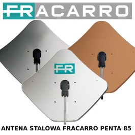 Antena satelitarna stalowa Fracarro PENTA85 cegla