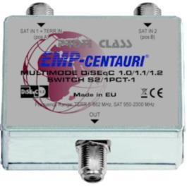 DiSEqC kaskada EMP-centauri 2/1 S2/1PCT-1