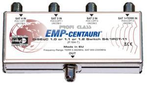 DiSEqC kaskada EMP-centauri 4/1 S4/1PCT-11