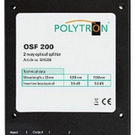 Splitter optyczny 1x2 POLYTRON OSF200