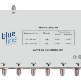 Multisiwtch Blue Line MS BL58B +zas zew.