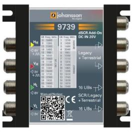 Multiswitch Unicable II Johansson 9739 - 4/2