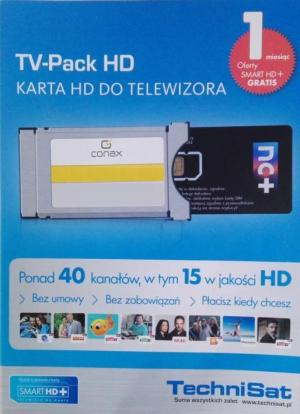 TV Pack HD moduł Smit CONAX z  Smart HD+ karta 1mc
