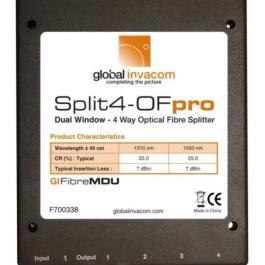 Splitter optyczny Invacom 1x4 Split4-OF pro