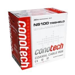 kabel RG6U CU Conotech NS 100 Tri Pulbox 300m