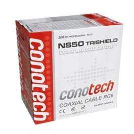 kabel RG6U Cu Conotech NS 50Tri - Pulbox 300mb