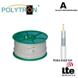 Kabel POLYTRON Poka 110 ESM A LTE >110dB 100mb.