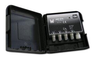 Alcad Wzmacniacz Masztowy AM-274 12V 34dB UHF VHF
