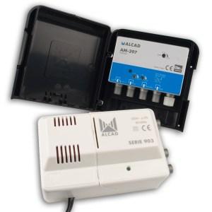 Alcad Zestaw KIT BO-397 24V 32dB UHF VHF FM LTE700