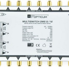 Multiswitch OMS 9/16 Golden Line