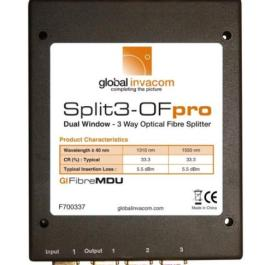 Splitter optyczny Invacom 1x3 Split3-OF pro