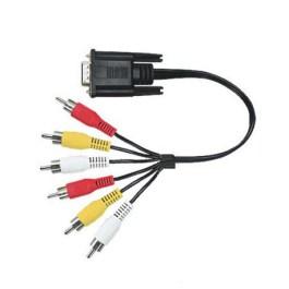 kabel SPM-D6RCA D-SUB / 6RCA 1,5m