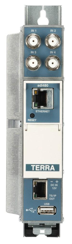 Streamer TERRA sdi 480 IPTV DVB-S/S2-IP z USB