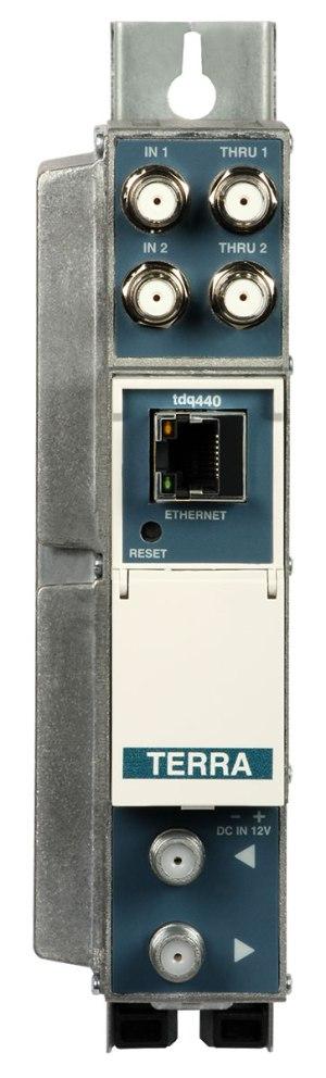 Transmodulator TERRA TDQ-440 8xDVB-S/S2-4xDVB-C