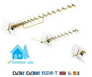 Antena UHF Funke ABM 4551 DVB-T/T2 4G INERT LTE