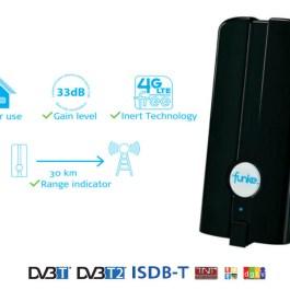 Antena wewnętrzna Funke DSC250 DVB-T/T2 4G LTE