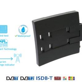 Antena zewnętrzna Funke City 5.5 DVB-T/T2 (margon)