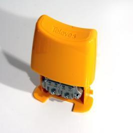 Zwrotnica masztowa Televes VHF-UHF-UHF+DC 404110