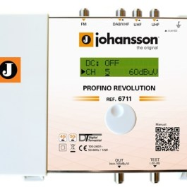 Wzmacniacz Johansson PROFINO Revolution 6711 Plus