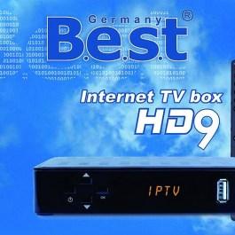 Tuner BEST HD9 IPTV BOX m3u H.265 Stalker + m3u