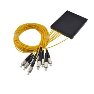 Splitter optyczny z pigtail 1x8 1310/1550nm FC/PC